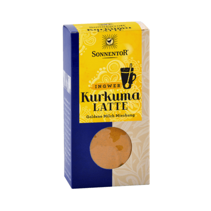 SONNENTOR Kurkuma-Latte-Ingwer bio würzig, 60g Nachfüllpackung