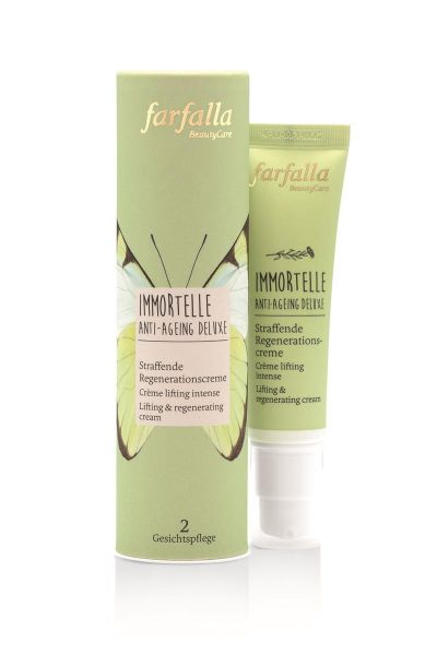Farfalla Immortelle Anti Ageing Deluxe, Straffende Regenerationscreme, 30ml