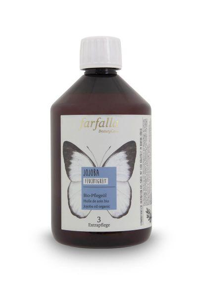 Farfalla Jojoba Bio-Pflegeöl, 500ml