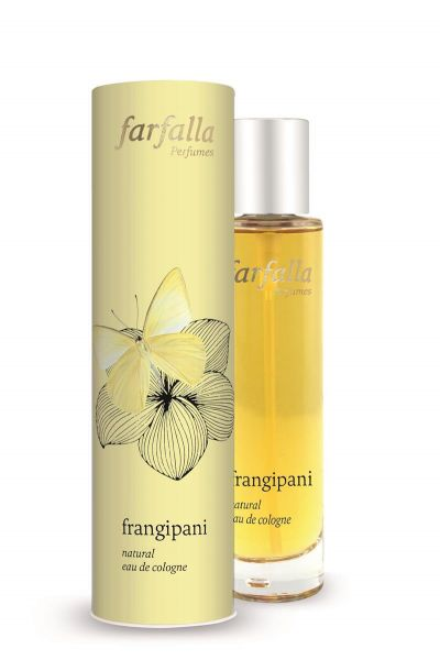 FARFALLA frangipani, natural eau de cologne, 50ml NEU!