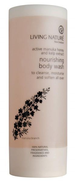 Living Nature NOURISHING BODY WASH: Nährendes Duschgel, 200ml