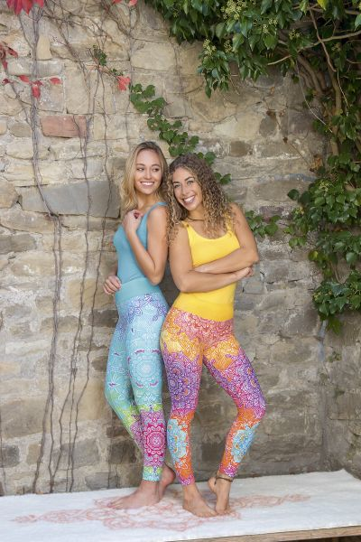 The Spirit of OM Yogahose/Leggings Gr. XS - XL in verschiedenen Farben
