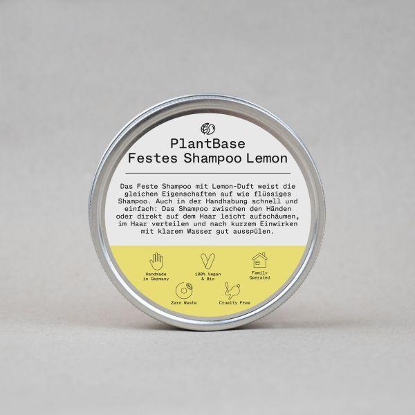 PlantBase festes Shampoo, 60g