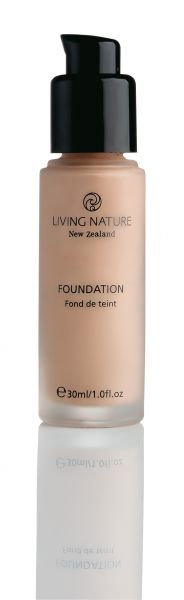 Living Nature FOUNDATION PURE TAUPE, 30ml
