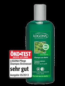 LOGONA Pflege Shampoo Bio-Brennnessel, 250ml