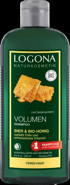 LOGONA Volumen Shampoo Bier & Bio-Honig 250ml