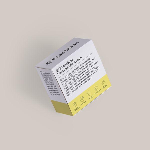 PlantBase Duschseife Lemon, 100g