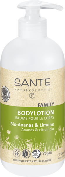 SANTE Bodylotion Bio-Ananas & Limone, 500ml