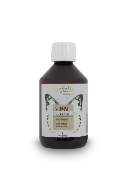 Farfalla Wildrose Bio-Pflegeöl, 250ml