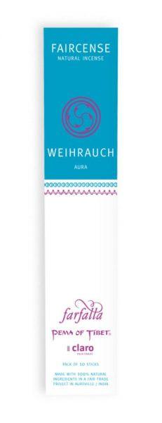 FARFALLA Weihrauch / Aura, Faircense Räucherstäbchen