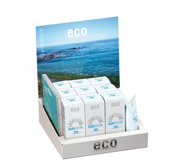 ECO Verkaufsdisplay Sonnenmilch