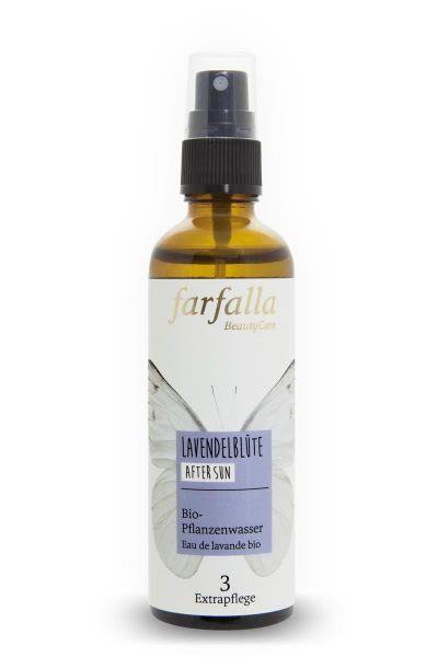 Farfalla Lavendelblüte Bio-Pflanzenwasser, 75ml