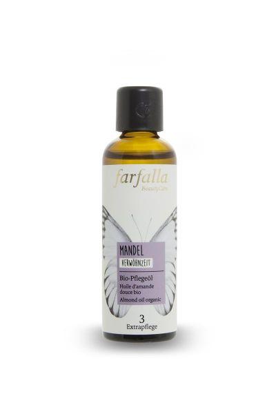 Farfalla Mandel Bio-Pflegeöl, 75ml