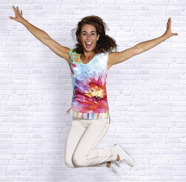 The Spirit of OM Bluse Happiness XS-XL