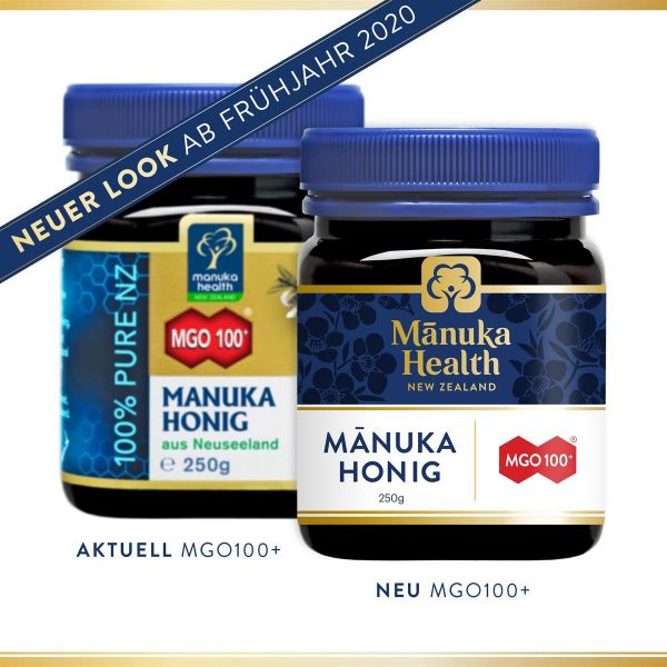 Manuka Health Manukahonig MGO 100+, 250g