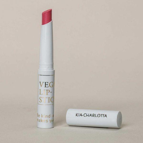 "Kia Charlotta Vegan Lipstick ""Do it Anyway"" Helles Beerenrosa, 1,8g"