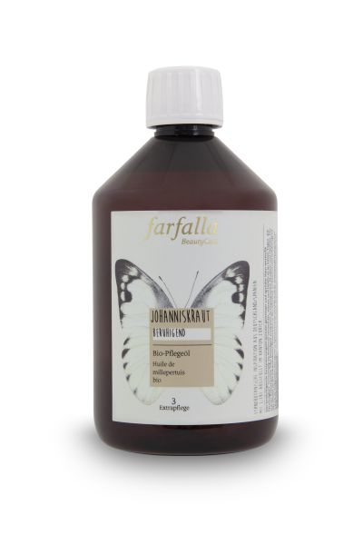 Farfalla Johanniskraut Bio-Pflegeöl, 500ml