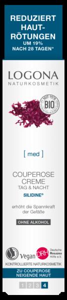 LOGONA Couperose PflegeCreme SILIDINE®, 30ml