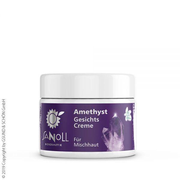 SANOLL Amethyst Gesichtscreme, für Mischhaut 50ml