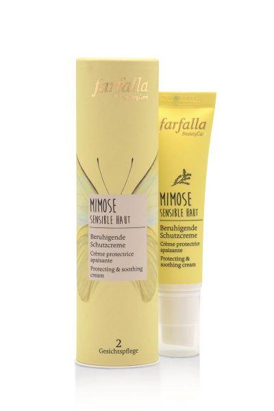 Farfalla Mimose Sensible Haut, Beruhigende Schutzcreme, 30ml