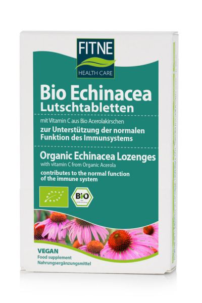 FITNE Bio Echinacea Lutschtabletten, 30 Stk.