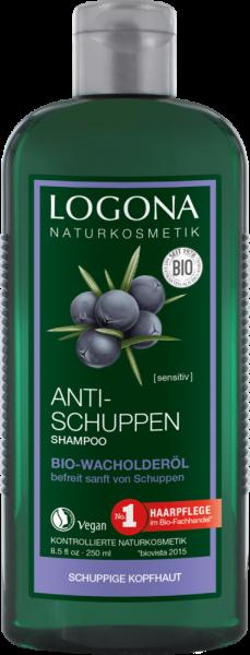 LOGONA Anti-Schuppen Shampoo Bio-Wacholderöl, 250 ml