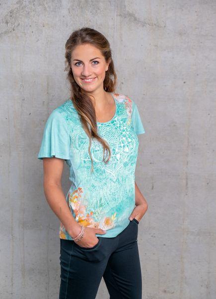 The Spirit of OM Wohlfühl-Shirt Jade Gr. XS-XXL