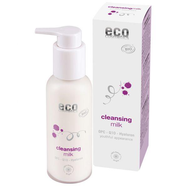 ECO Reinigungsmilch mit OPC,Q10 und Hyaluron, 100ml
