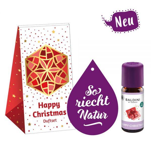 Baldini Happy Christmas 10 ml Mini-Duftset mit Duftvlies