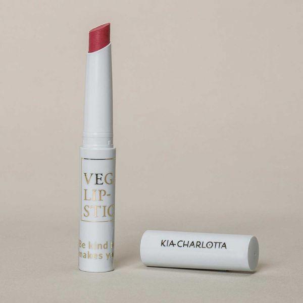 "Kia Charlotta Vegan Lipstick ""Beyond Fear"" Rubinrot, 1,8g"