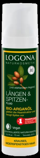 LOGONA Längen- und Spitzenfluid Bio-Arganöl, 75ml