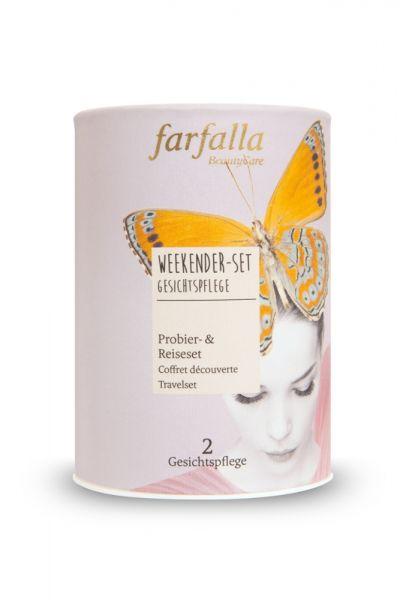 Farfalla Weekender-Set Gesichtspflege 3x15ml