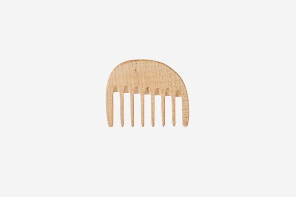 KOST KAMM Lockenkamm klein Holz, extrabreit, 10cm