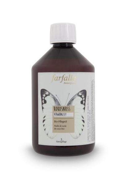 Farfalla Kokosnuss Bio-Pflegeöl, 500ml