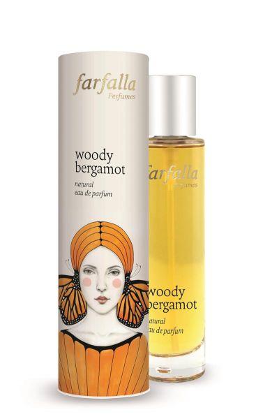 FARFALLA woody bergamot, Natural Eau de Parfum 50ml NEU!