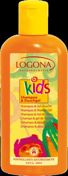 LOGONA Kids Shampoo & Duschgel 200ml