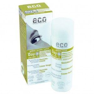 ECO Gesichtscreme Day + LSF 15 (leicht getönt), 50ml Spender