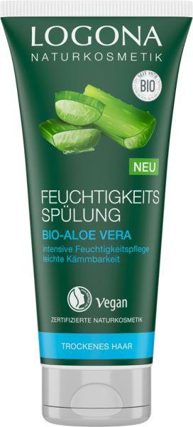 LOGONA FeuchtigkeitsSpülung Bio-Aloe Vera, 200ml