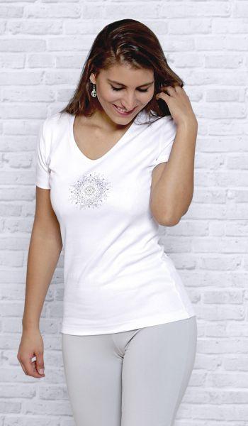 "Spirit of OM ""Flower of Harmony"" Shirt Gr. XS - XXL"