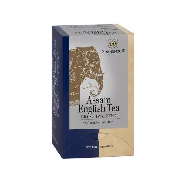 SONNENTOR English Tea Assam kbA, Beutel 18 x1,5g