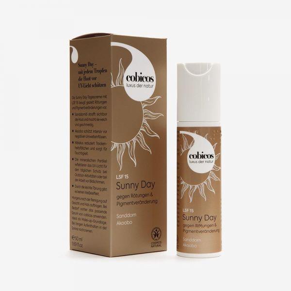 Cobicos SUNNY Day Cream mit LSF 15, 50ml