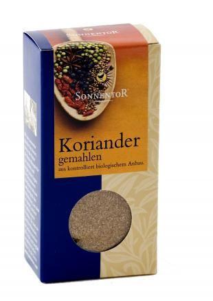 SONNENTOR Koriander gem. kbA, 40g