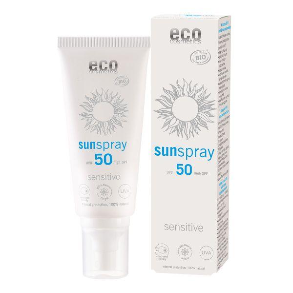 ECO Sonnenspray LSF 50 sensitive 100 ml