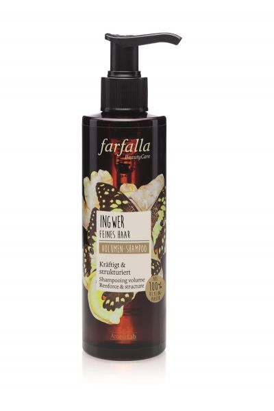 FARFALLA Ingwer, Volumen-Shampoo, 200ml NEU!