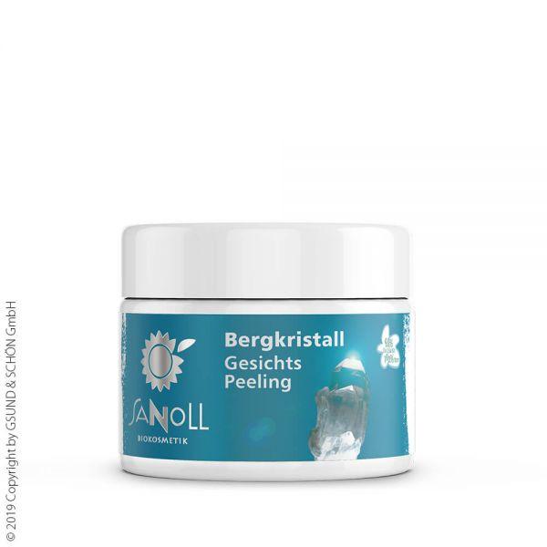 SANOLL Bergkristall Maske & Peeling nährend 30ml