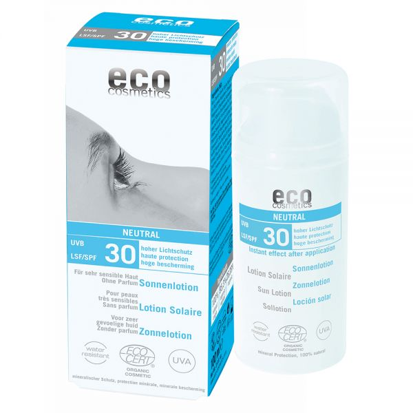 ECO Sonnenlotion LSF 30, -Neutral ohne Duft- 100ml
