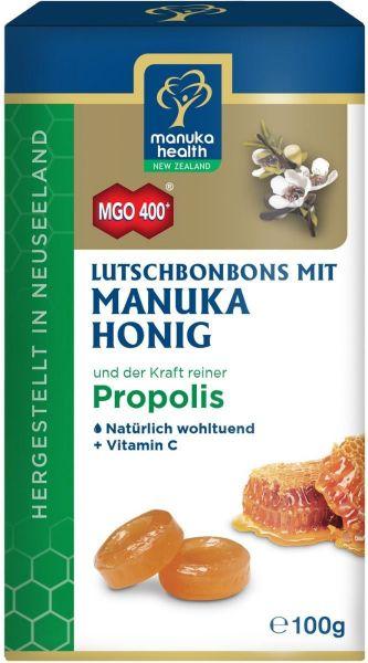 Manuka Health Bonbons mit Manukahonig MGO 400+ & Propolis, 100g
