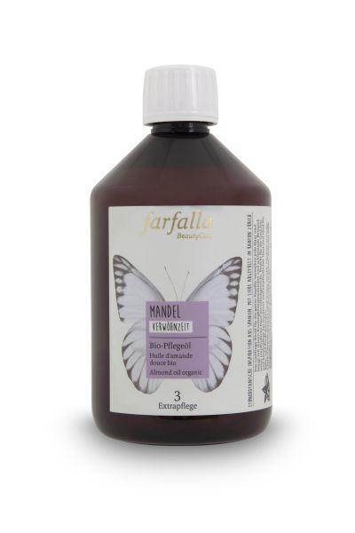 Farfalla Mandel Bio-Pflegeöl, 500ml
