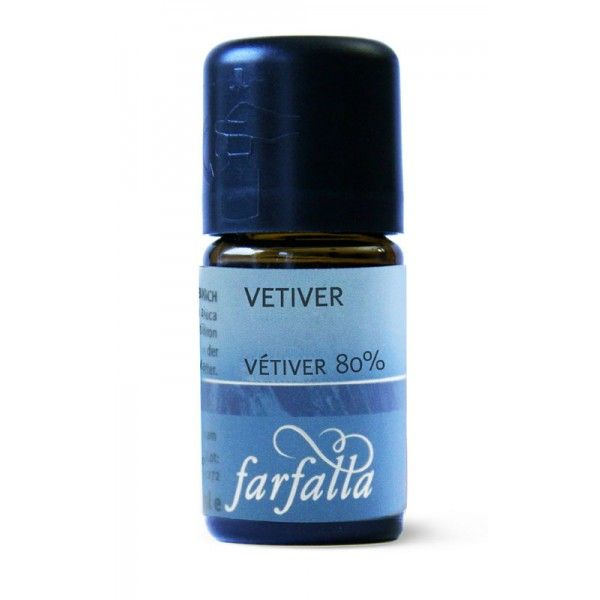 FARFALLA Vetiver 80% (20% Alk.) bio, 5ml
