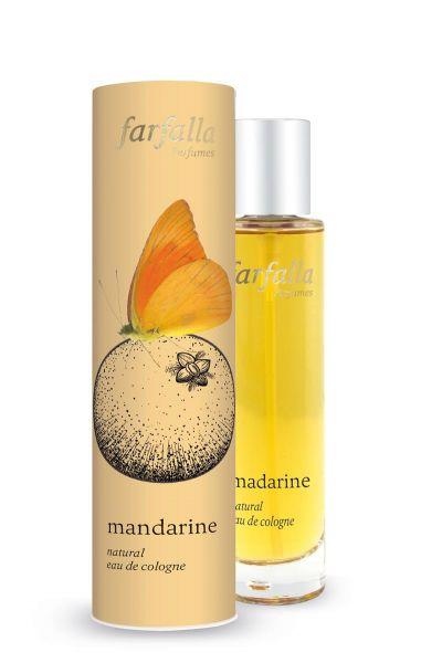 FARFALLA mandarine, natural eau de cologne, 50ml NEU!